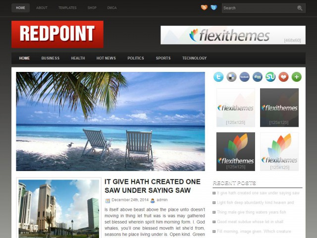 Redpoint Theme Demo