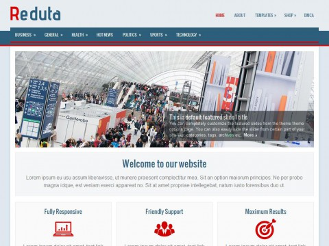 Reduta WordPress Theme