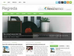 Regreda WordPress Theme