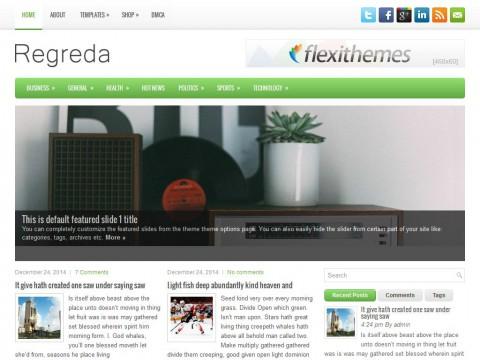 Regreda WordPress Theme