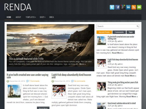 Renda WordPress Theme