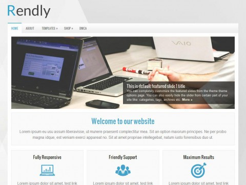 Rendly WordPress Theme