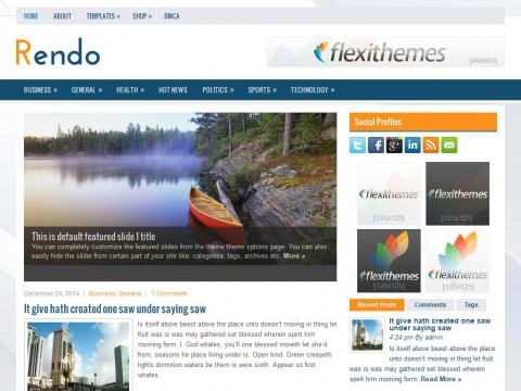 Rendo WordPress Theme