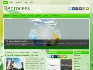 Reprocess WordPress Theme