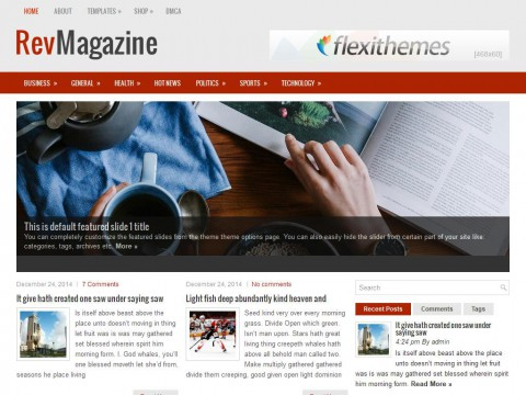 RevMagazine WordPress Theme