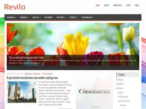 Revilo WordPress Theme