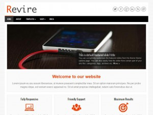 Revire WordPress Theme