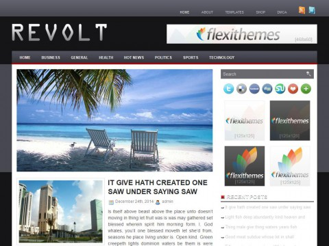 Revolt WordPress Theme
