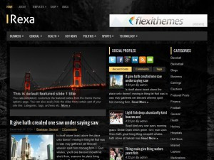 Rexa WordPress Theme