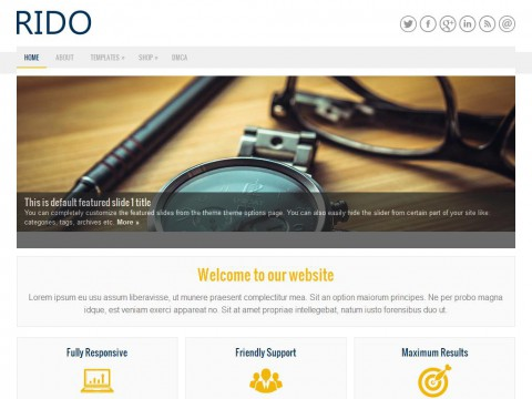 Rido WordPress Theme