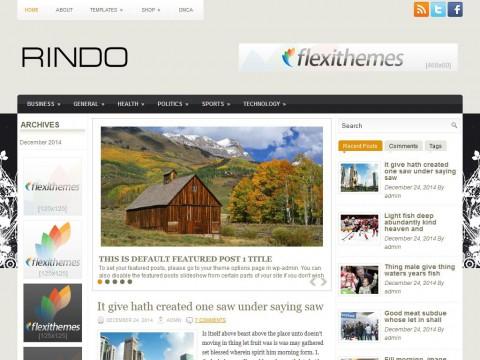 Rindo WordPress Theme
