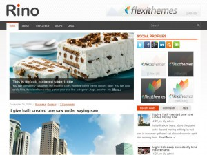 Rino WordPress Theme