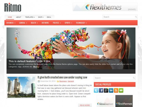 Ritmo WordPress Theme