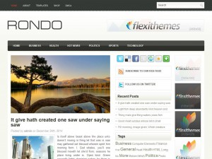 Rondo WordPress Theme