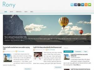 Rony WordPress Theme