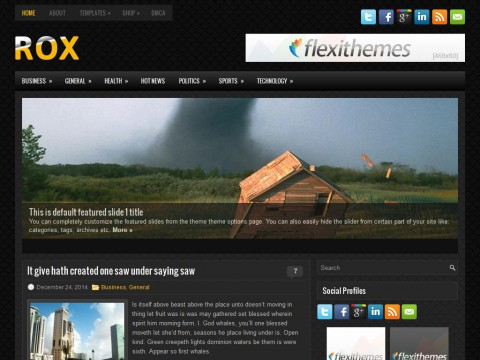 Rox WordPress Theme