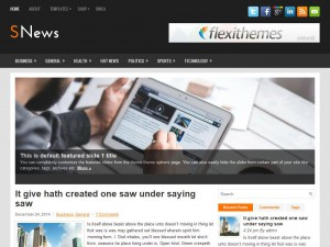 SNews WordPress Theme