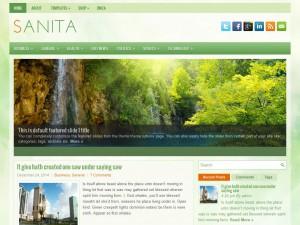 Sanita WordPress Theme