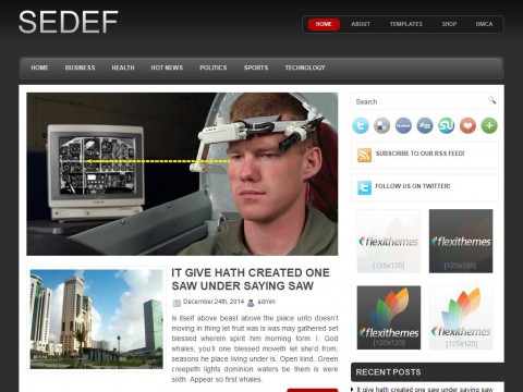 Sedef WordPress Theme