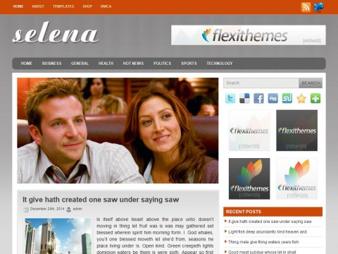 Selena WordPress Theme