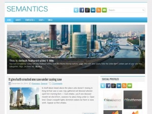 Semantics WordPress Theme