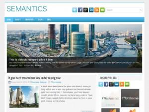 Semantics WordPress Theme