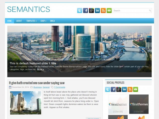 Semantics Theme Demo