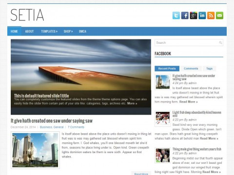 Setia WordPress Theme