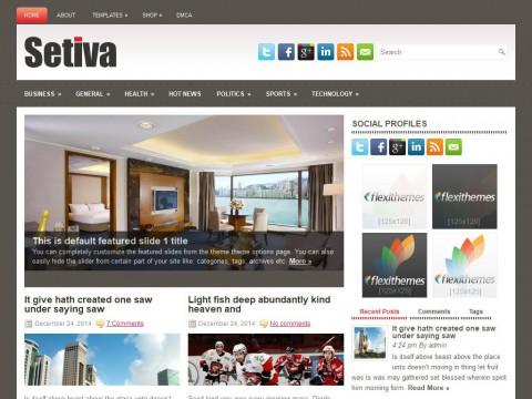 Setiva WordPress Theme