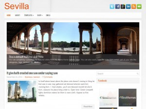 Sevilla WordPress Theme