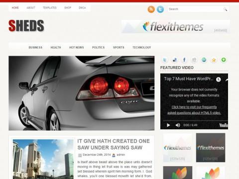 Sheds WordPress Theme