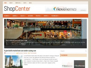 ShopCenter WordPress Theme