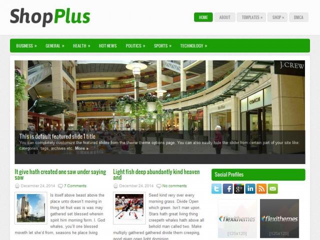 ShopPlus Theme Demo