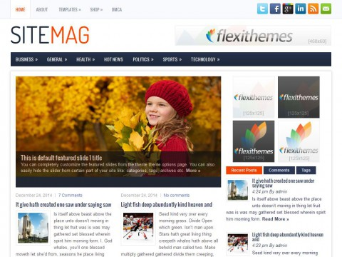 SiteMag WordPress Theme