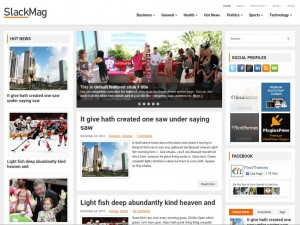 SlackMag WordPress Theme