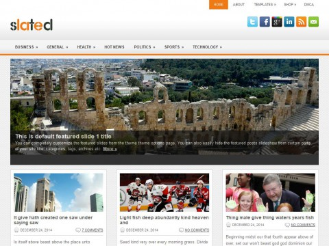 Slated WordPress Theme