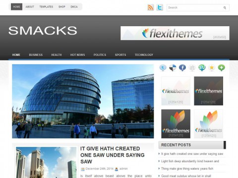 Smacks WordPress Theme