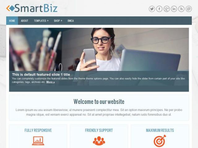 SmartBiz Theme Demo