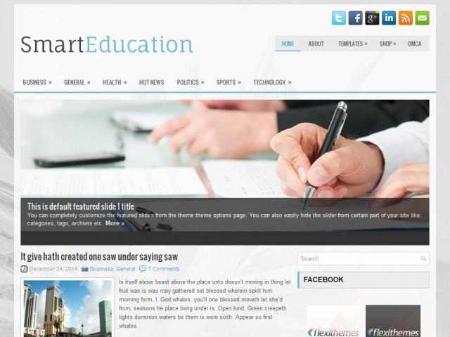 SmartEducation Theme Demo