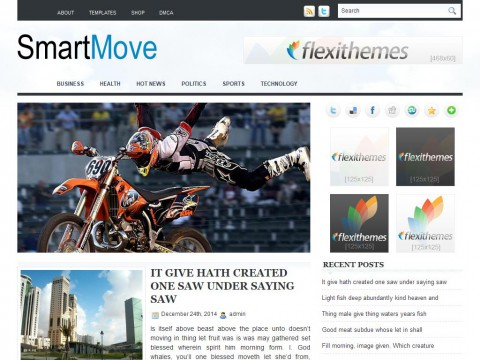 SmartMove WordPress Theme