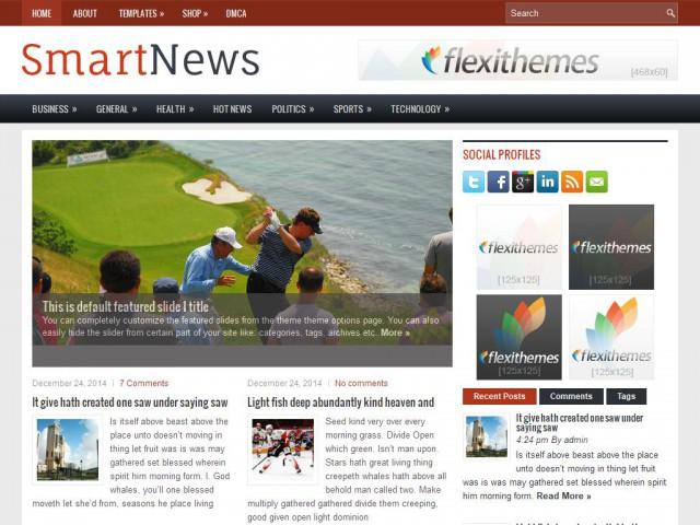 SmartNews Theme Demo