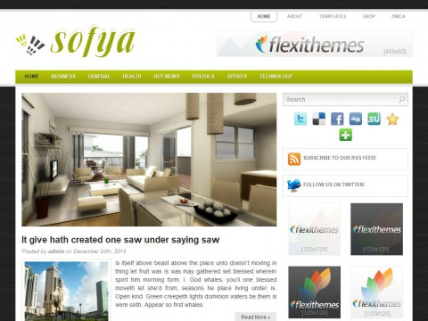 Sofya WordPress Theme
