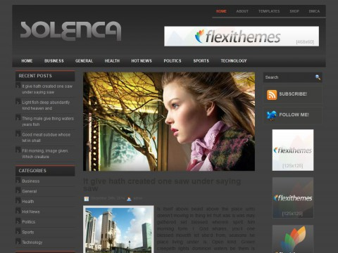 Solenca WordPress Theme