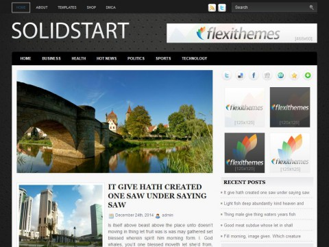 SolidStart WordPress Theme
