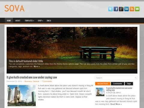 Sova WordPress Theme