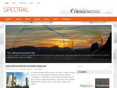 Spectral WordPress Theme
