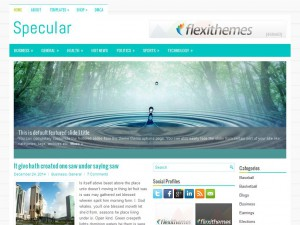 Specular WordPress Theme