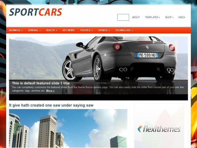 SportCars Theme Demo