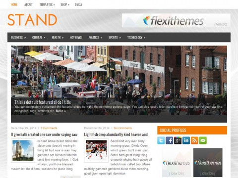 Stand WordPress Theme