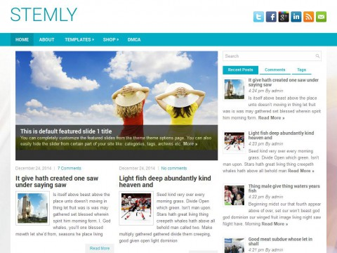 Stemly WordPress Theme